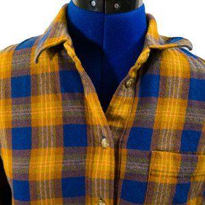 Madewell Westward Shirt in Ardan Plaid Size M